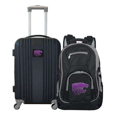 NCAA Kansas State Wildcats 2-Piece Set Luggage and Backpack