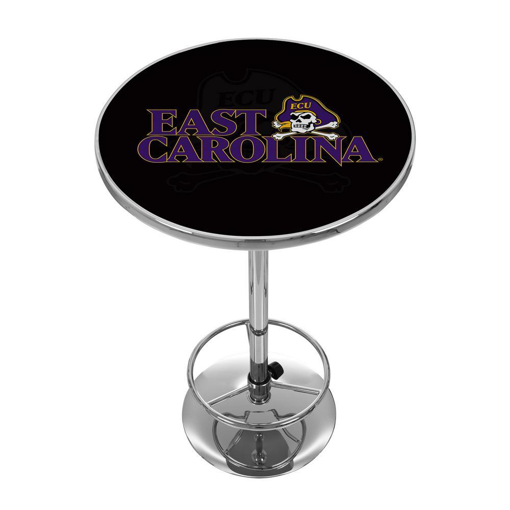 East Caroline University Chrome Pub/Bar Table