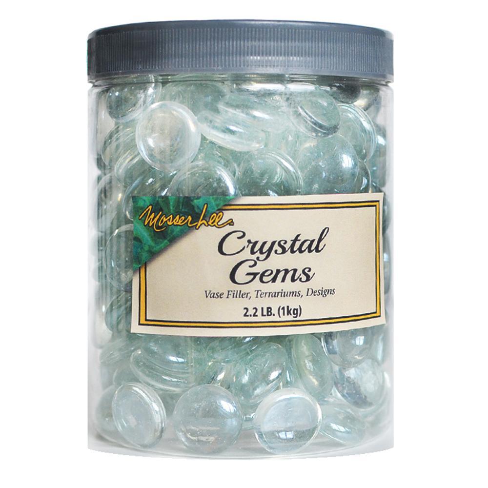 2.2 lb. Crystal Gems in Storage Jar