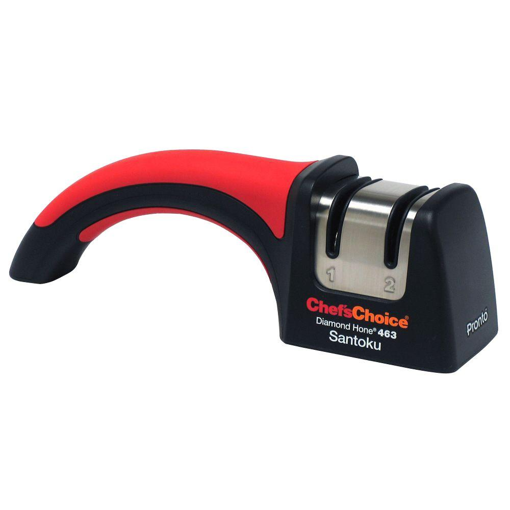 chefschoice pronto diamond manual knife sharpener - Kitchen Knife Sharpener