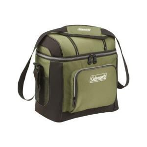 Click here to buy Coleman 16-Can Green Soft-Sided Cooler with Liner by Coleman.