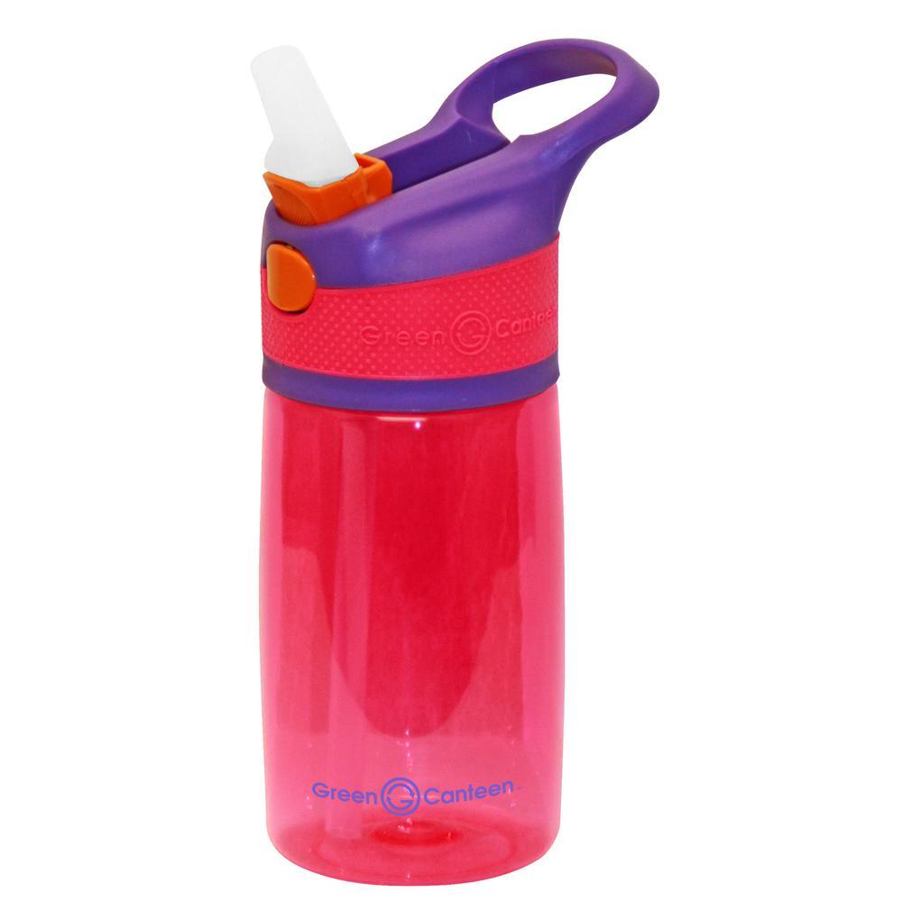 12 oz. Purple and Pink Plastic Tritan Hydration Bottle (6-Pack)