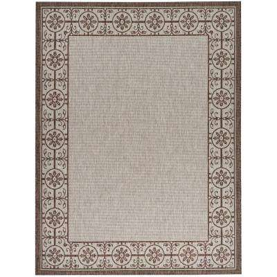 Country Side Natural 9 ft. 6 in. x 13 ft. Indoor/Outdoor Area Rug