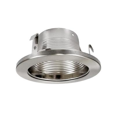 NICOR 4 in. Nickel Recessed Baffle Trim