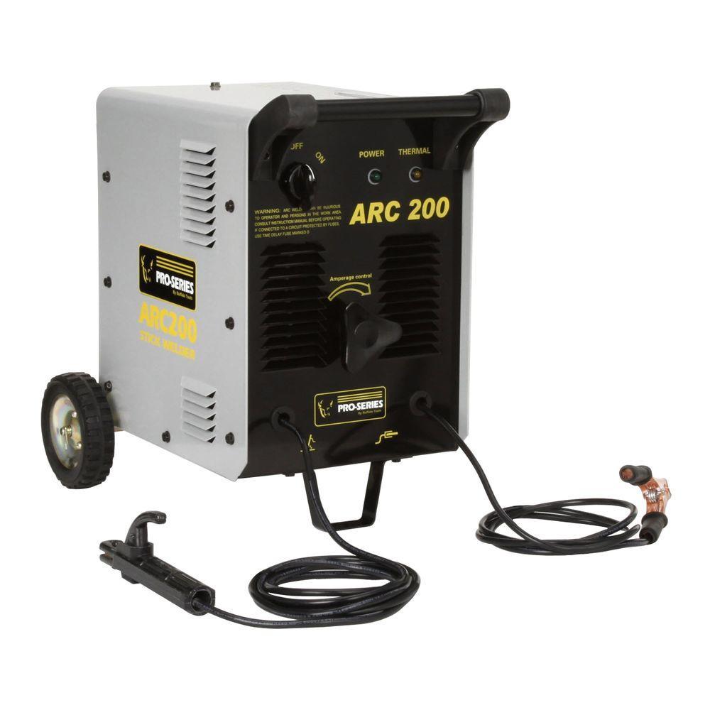 PRO-SERIES ARC 200 Stick Welder Kit