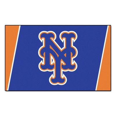 New York Mets 4 ft. x 6 ft. Area Rug