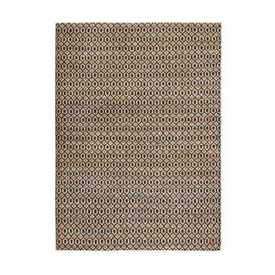 Goldfinger Black 8 ft. x 10 ft. Area Rug