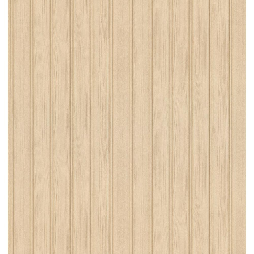 Bath Bath Bath III Tan Beadboard Wallpaper Sample