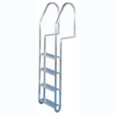 4 in. Aluminum Quick Release Dock Ladder