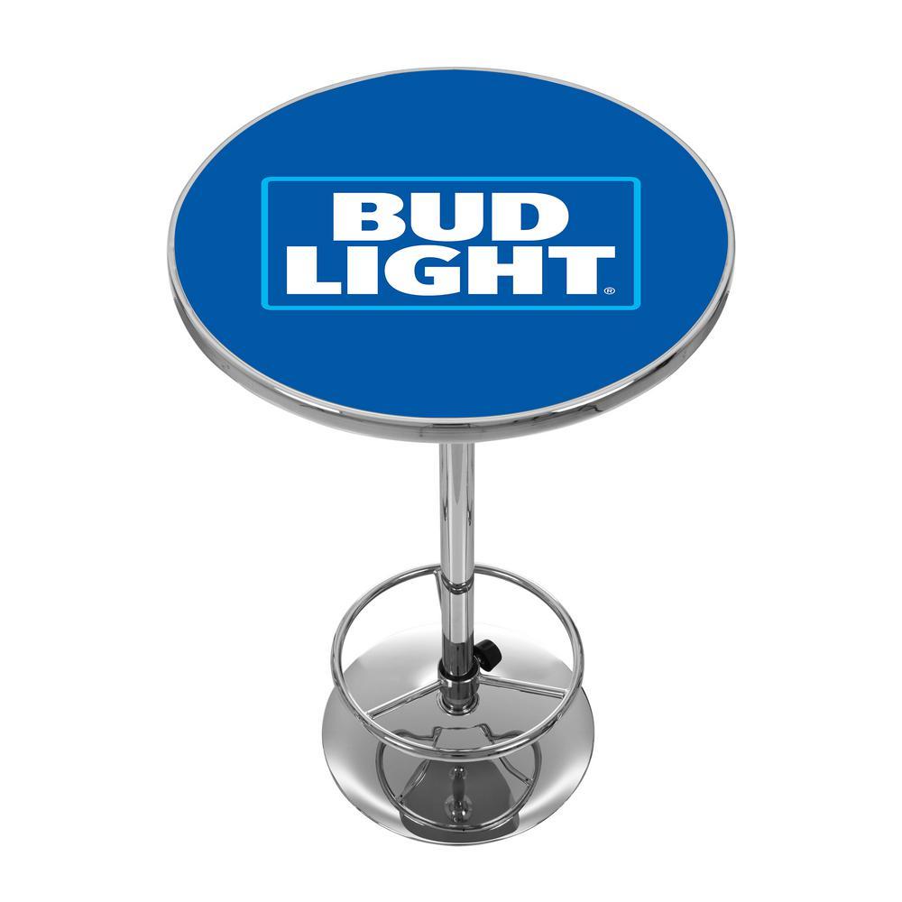 Bud Light Chrome Pub/Bar Table