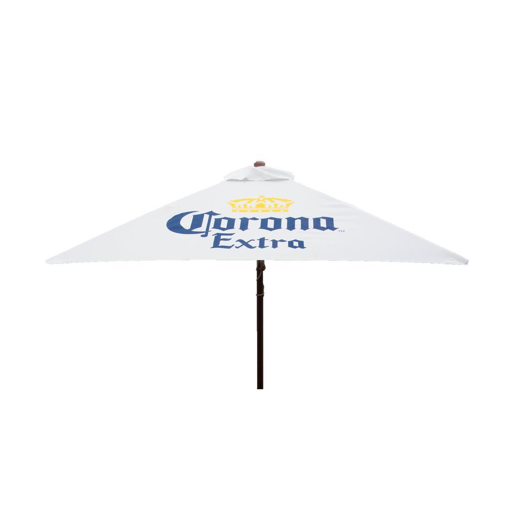 White - Market Umbrellas - Patio Umbrellas - The Home Depot