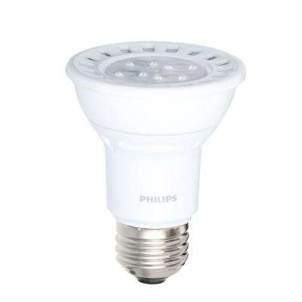 50W Equivalent Bright White (3,000K) PAR20 Dimmable LED Floodlight Bulb