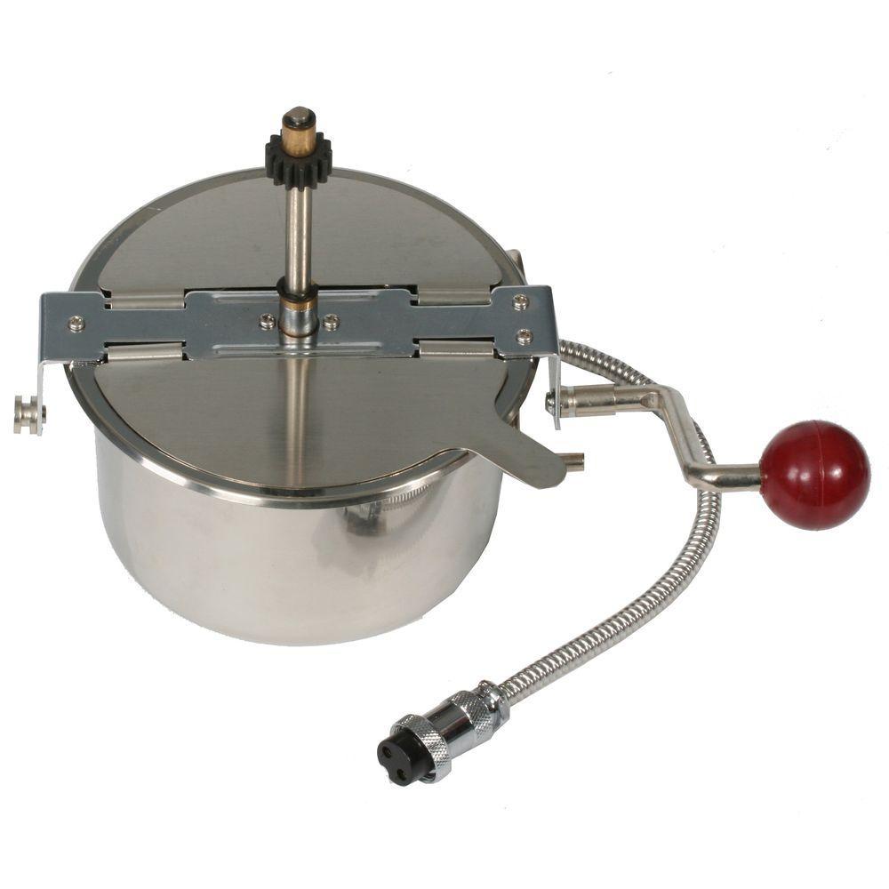 4 oz. Popcorn Kettle for Popcorn Stainless Steel Popper Kettles
