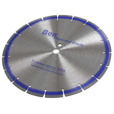 20 in. x 0.14 in. Blue Diamond Blade with Jumbo Segment