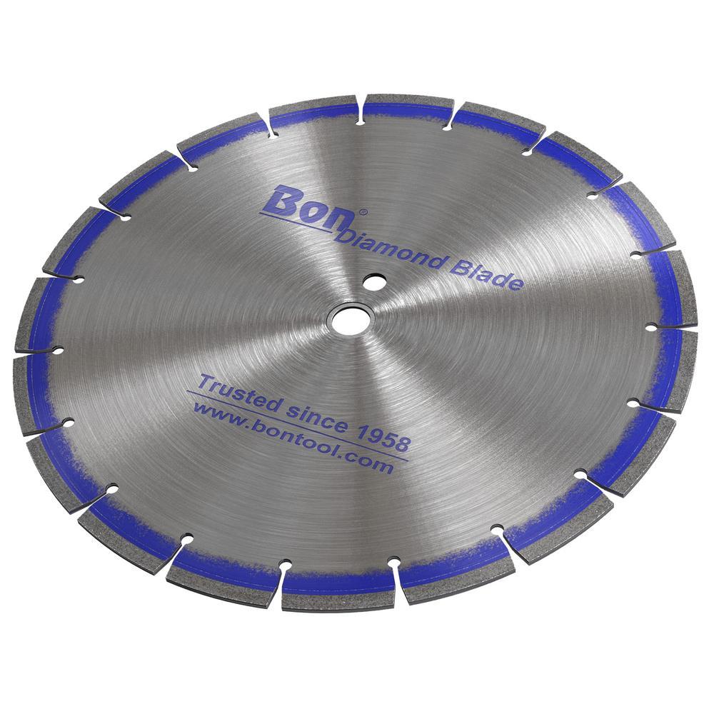 20 in. x 0.14 in. Blue Diamond Blade with Jumbo Segment