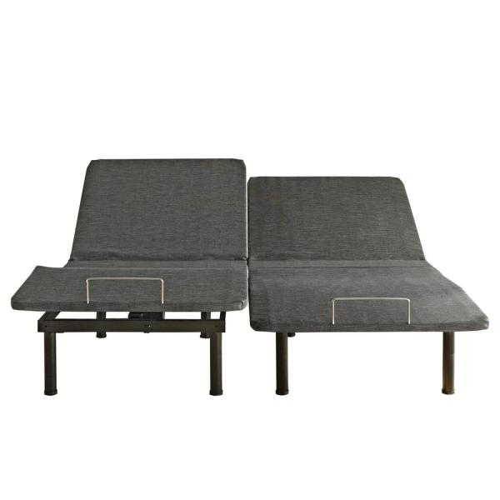 Rest Rite Split King Upholstered Adjustable Zero Clearance Bed Base Foundation