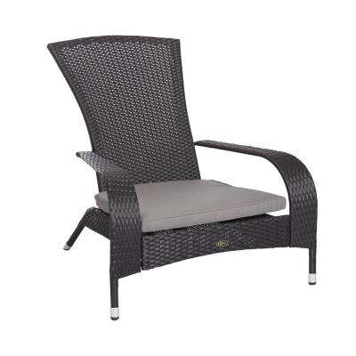 Gray Wrought Iron Patio Chairs Patio Furniture The Home Depot