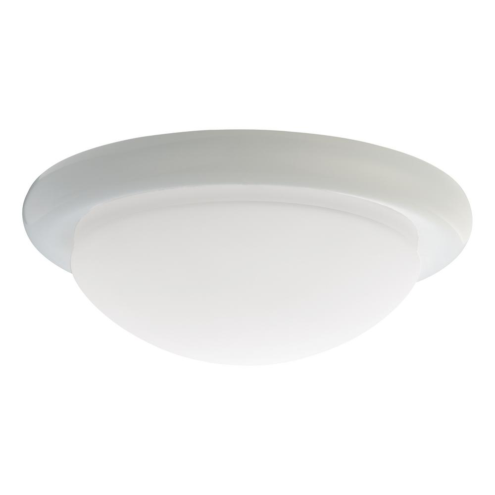 Monte carlo white ceiling fan light kit mc18wh b the home depot monte carlo white ceiling fan light kit arubaitofo Image collections