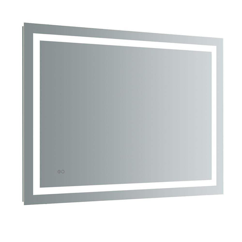 bathroom mirrors with led lights. H Frameless Single Bathroom Mirror With Bathroom Mirrors Led Lights O