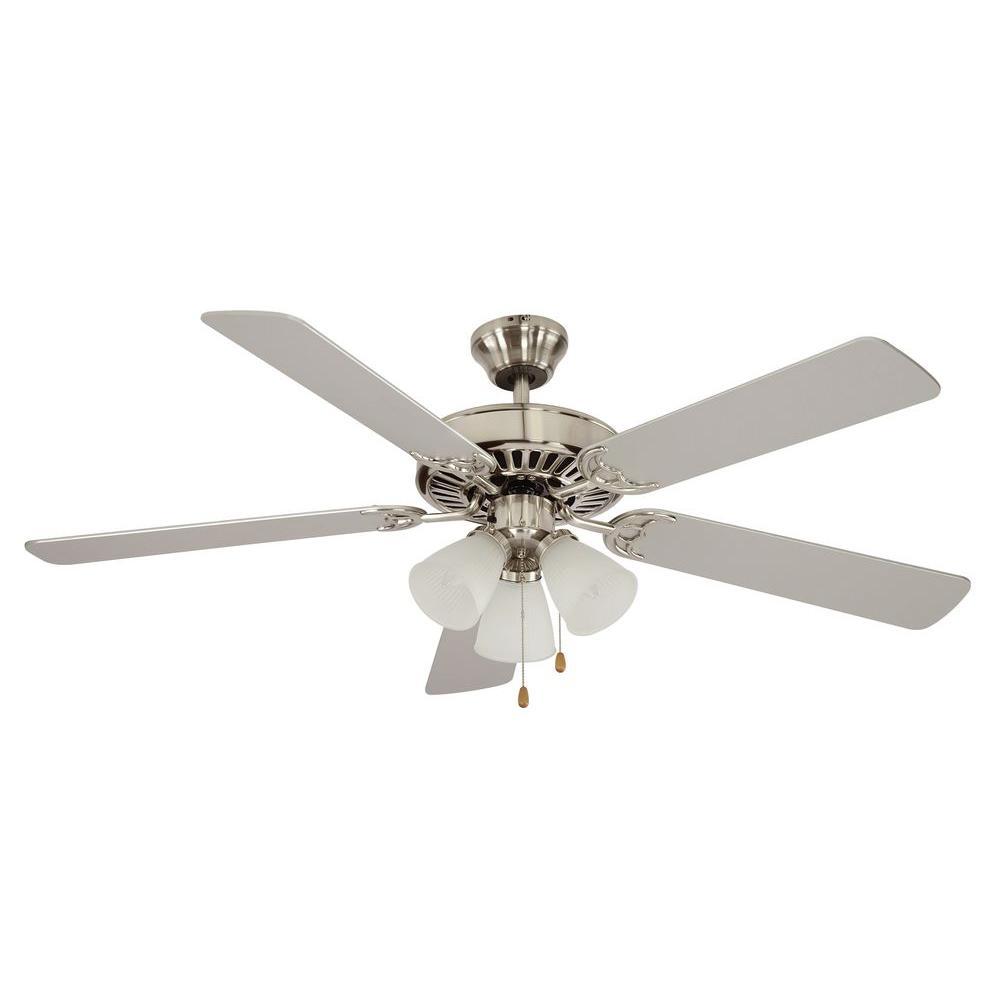 Hunter Newsome 52 In Indoor Brushed Nickel Ceiling Fan