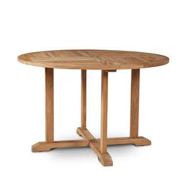 Curtis Round Teak Outdoor Dining Table