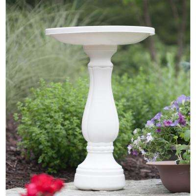 Promo Bird Bath in White