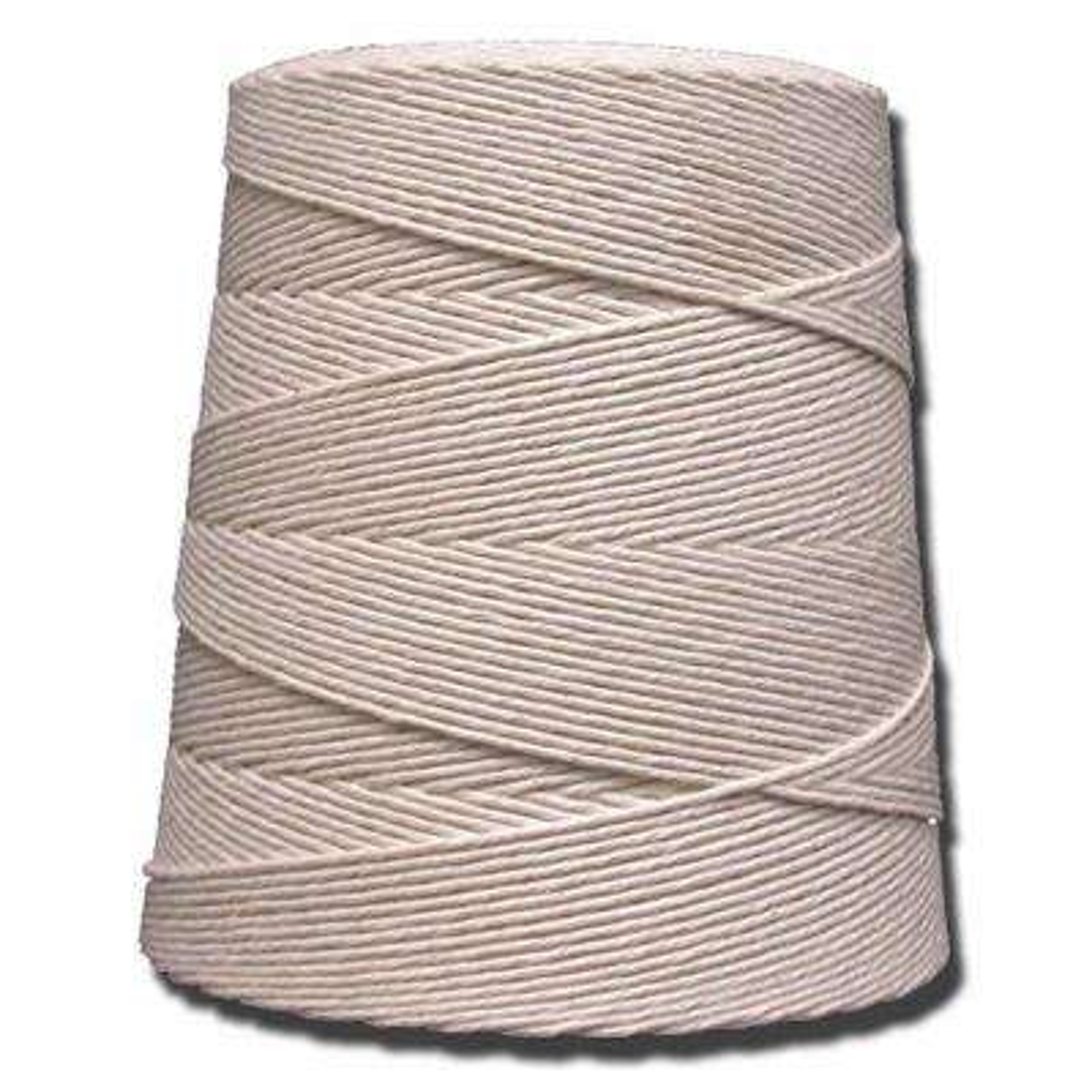 12-Ply 3200 ft. 2 lb. Cotton Twine Cone