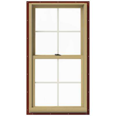 25.375 in. x 48 in. W-2500 Double Hung Aluminum Clad Wood Window