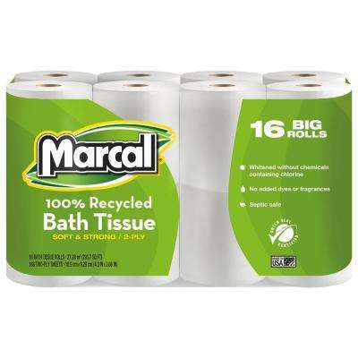 Marcal Toilet Paper Household Essentials The Home Depot