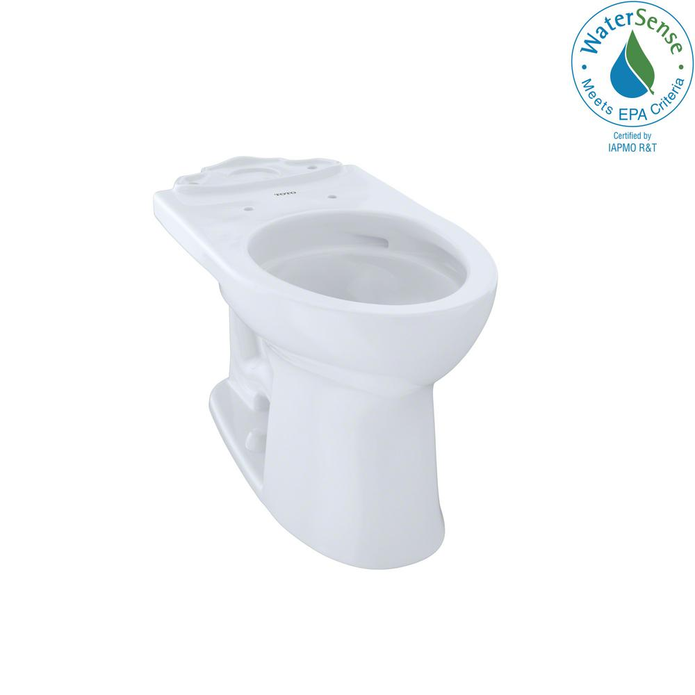Drake II Elongated Toilet Bowl Only with CeFiONtect in Cotton White