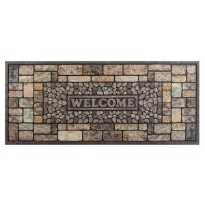TrafficMASTER Pebbles 20 inch x 47 inch Door Mat by TrafficMASTER