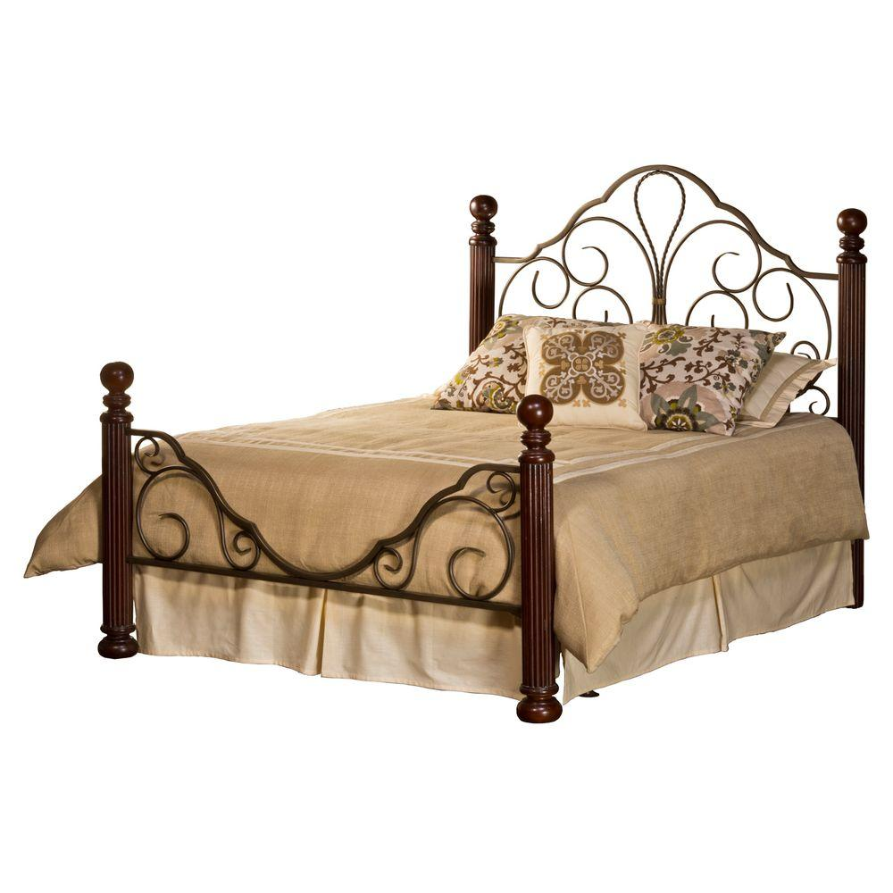 Hillsdale Furniture Ardisonne Queen-Size Bed Set with Rails