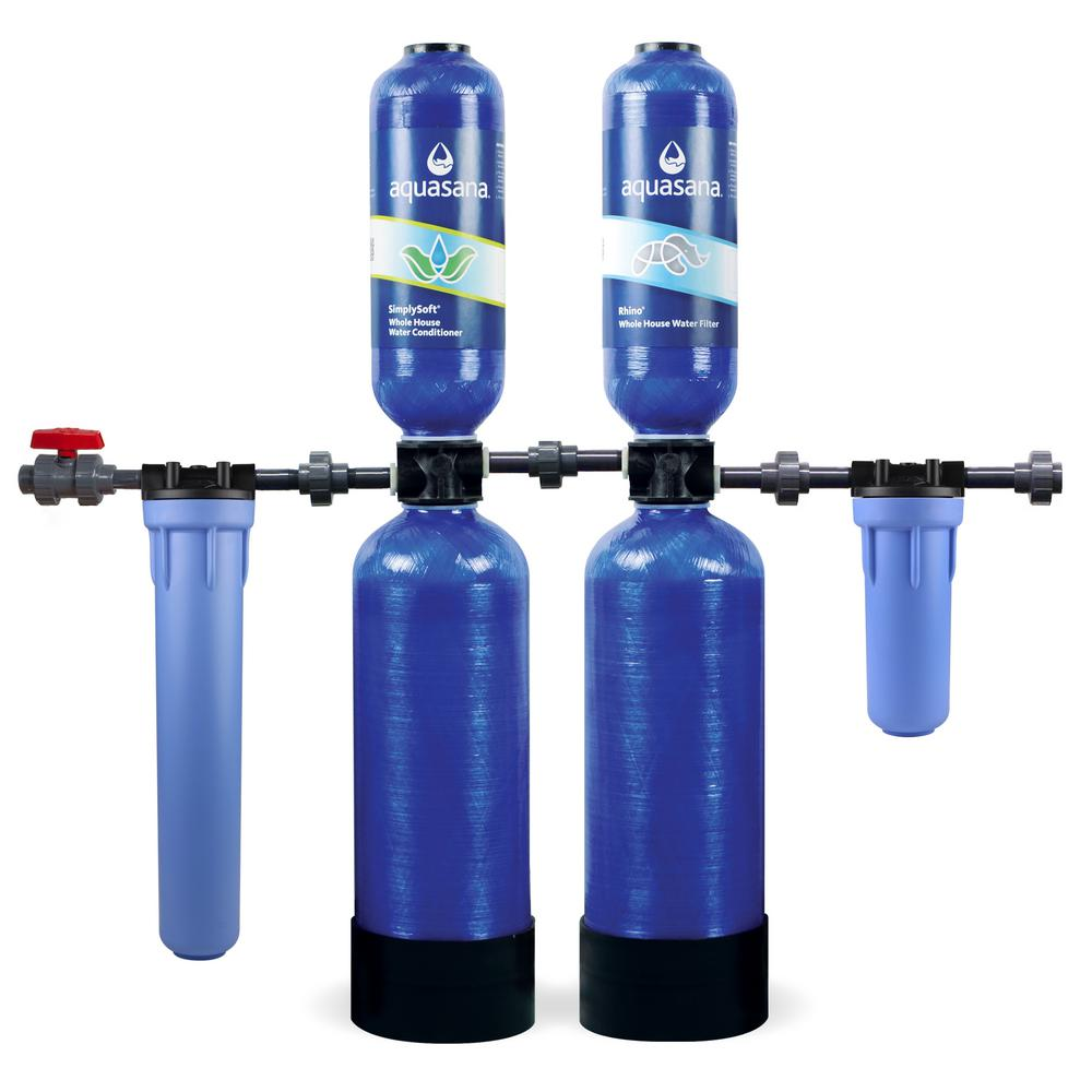 Rhino Series 5-Stage 1,000,000 Gal. Whole House Water Filtration System with