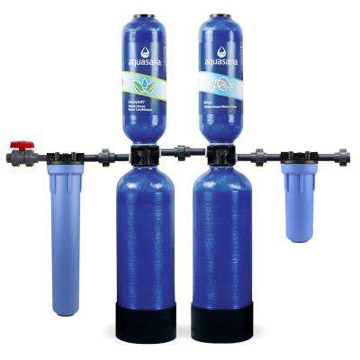 Whole House Water Filter System UDF Carbon IN OUT No Electricity Required