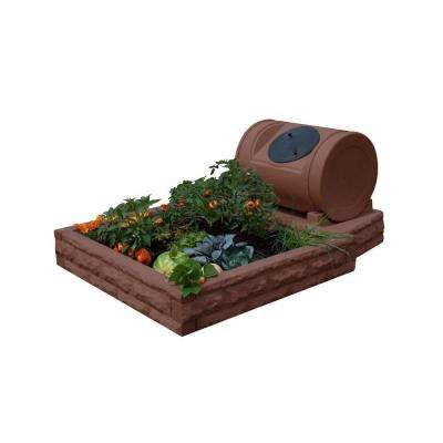 Hybrid Red Brick Raised Garden Bed