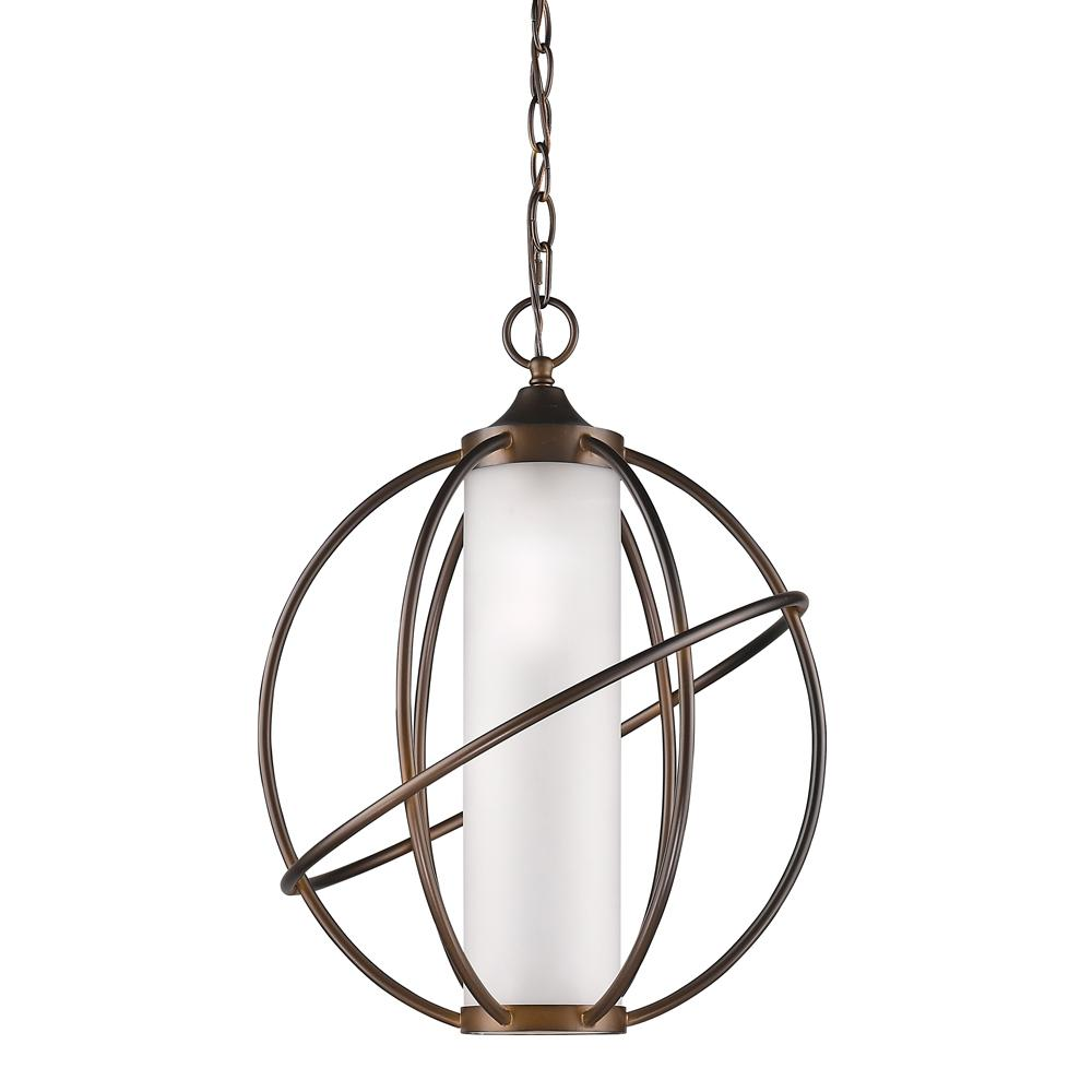Acclaim Lighting Loft Indoor 1-Light Oil Rubbed Bronze Pendant with Metal Cage-IN11201ORB - The Home Depot  sc 1 st  The Home Depot & Acclaim Lighting Loft Indoor 1-Light Oil Rubbed Bronze Pendant ... azcodes.com