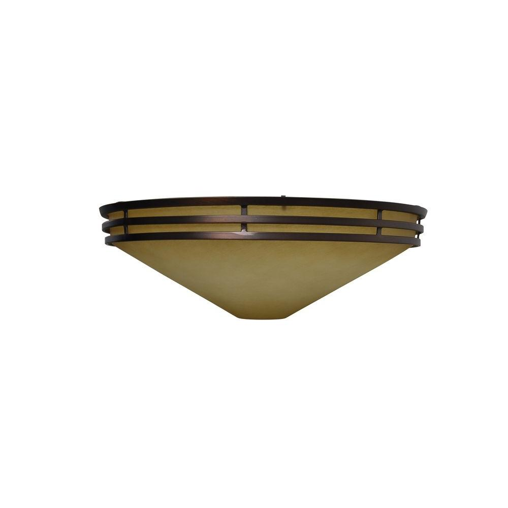 Miramar II 60 in. Oil Brushed Bronze Ceiling Fan Replacement Glass