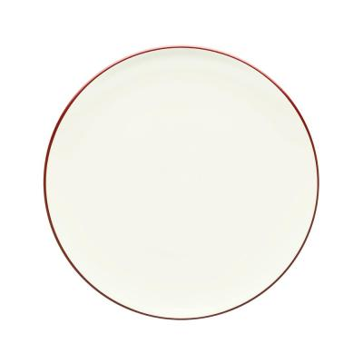 Colorwave  10.5 in. Raspberry Coupe Dinner Plate
