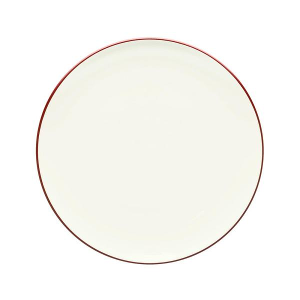Noritake Colorwave 10.5 in. Raspberry Coupe Dinner Plate 8045-406