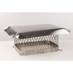 13 in. x 13 in. Stainless Steel Fixed Chimney Cap
