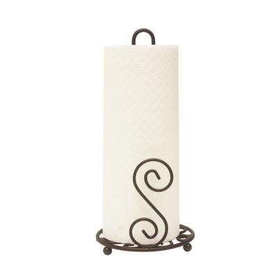 Scroll Collection Paper Towel Holder