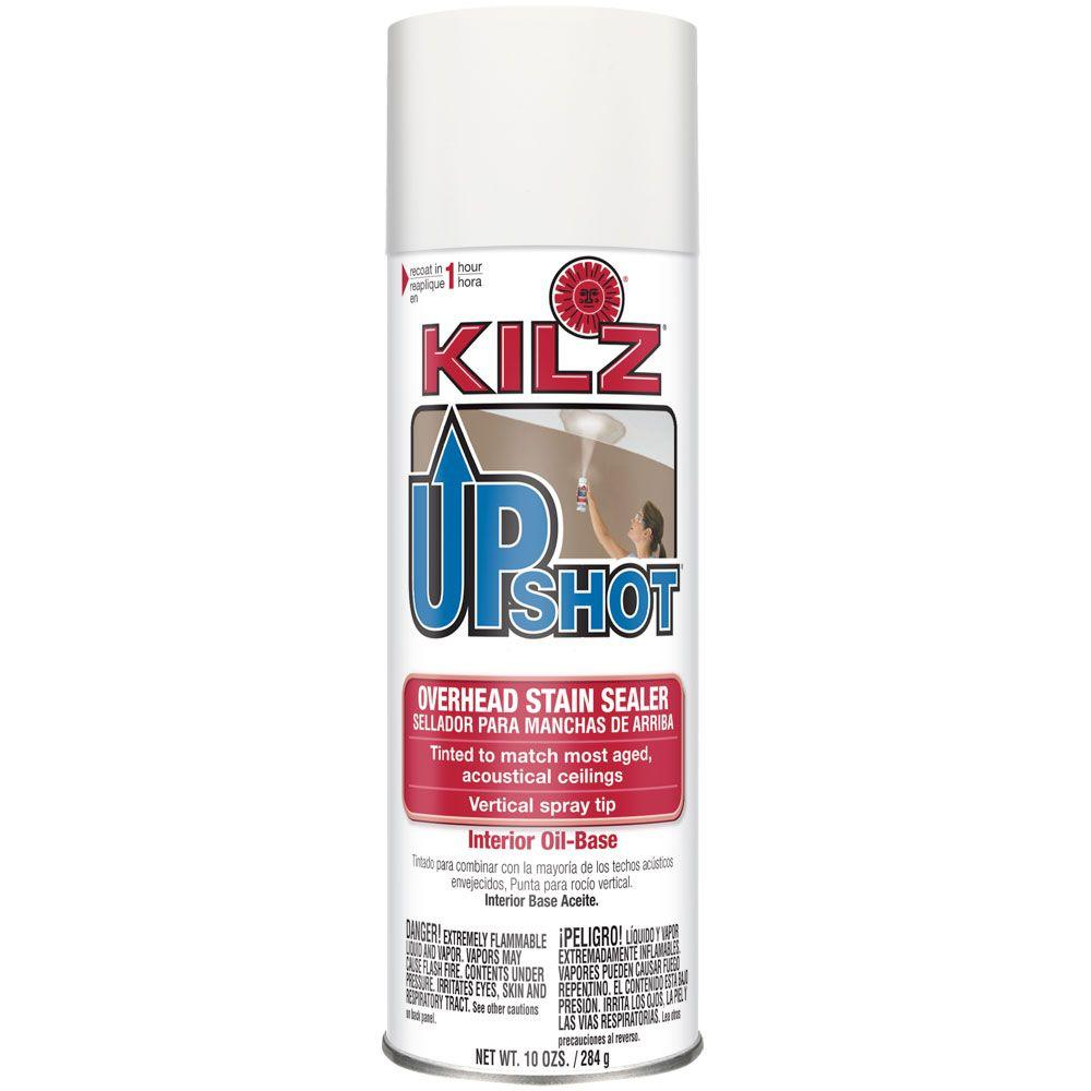 KILZ UPSHOT 10 oz Overhead Oil Based Interior Stain Sealer