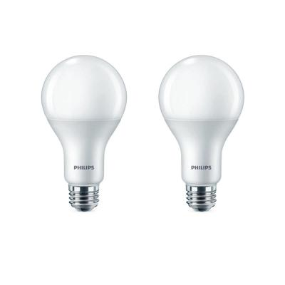 100-Watt Equivalent A21 Dimmable with Warm Glow Dimming Effect Energy Saving LED Light Bulb Soft White (2700K) (4-Pack)