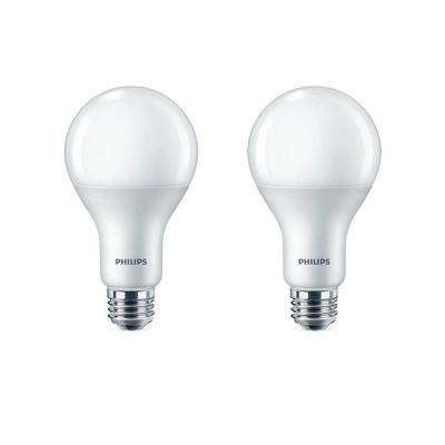 100-Watt Equivalent A21 Dimmable with Warm Glow Dimming Effect Energy Saving LED Light Bulb Soft White (2700K) (2-Pack)