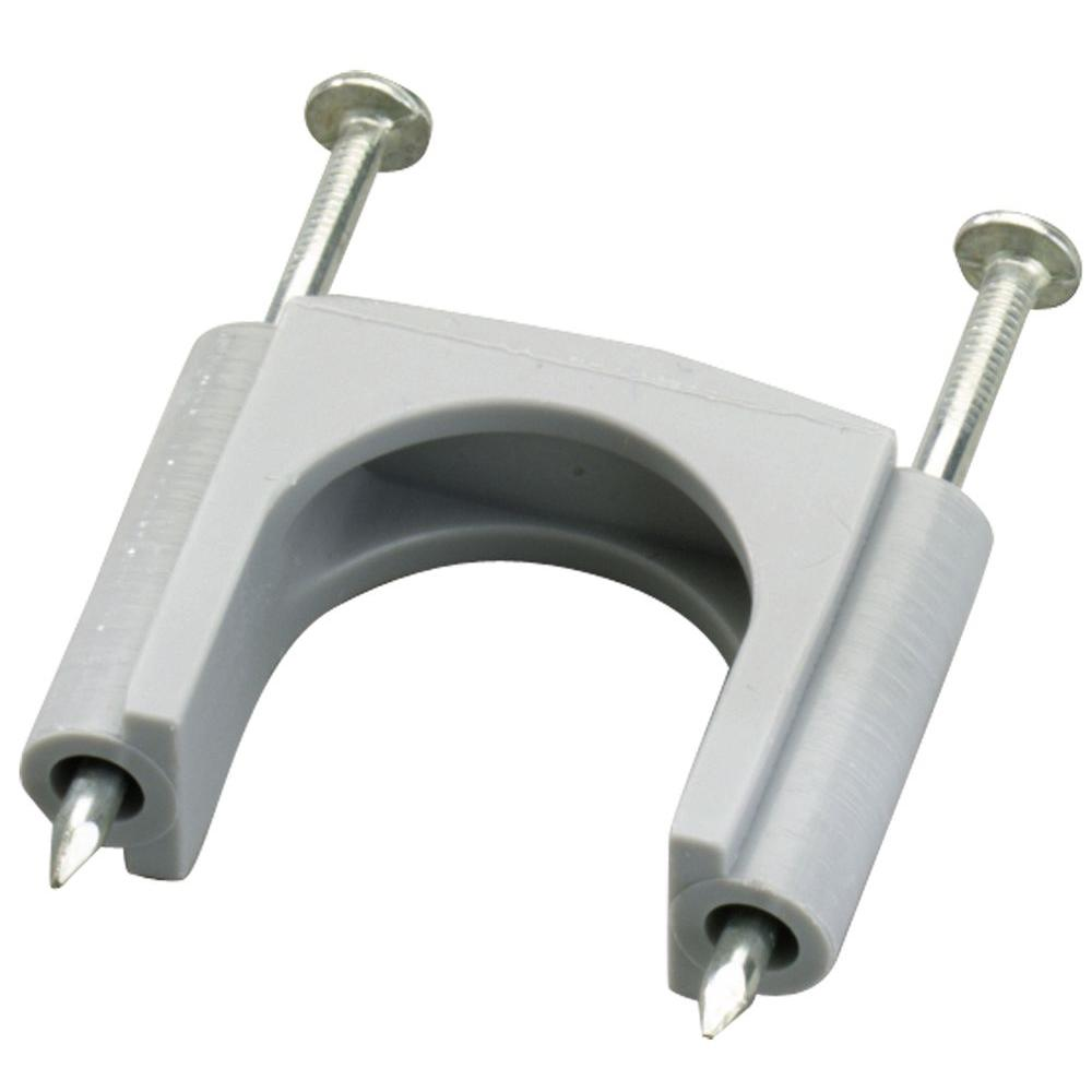 1-1/4 in. Gray Plastic Service Entrance Cable Straps for #6 SER