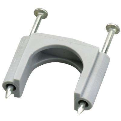 1-1/4 in. Gray Plastic Service Entrance Cable Straps for #6 SER Cable (5-Pack)