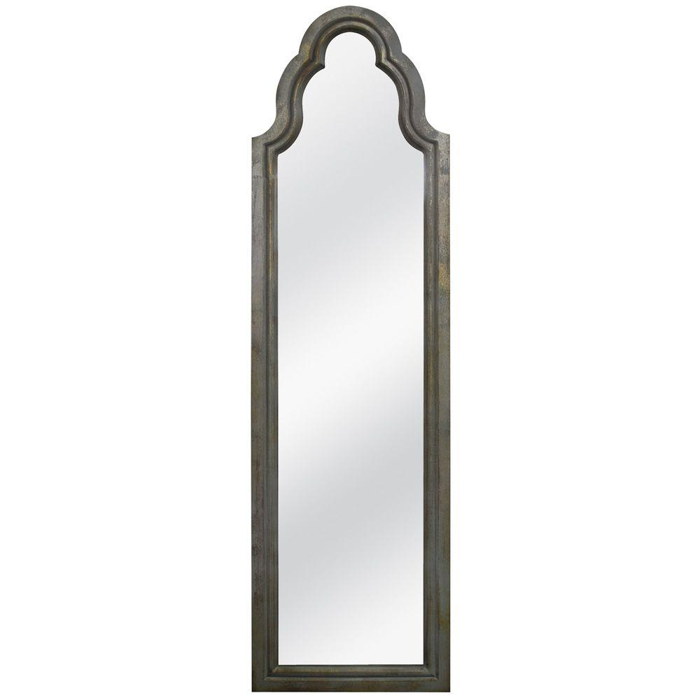 MCS 20.5 in. x 70.75 in. French Arch Cheval Framed Mirror-DISCONTINUED
