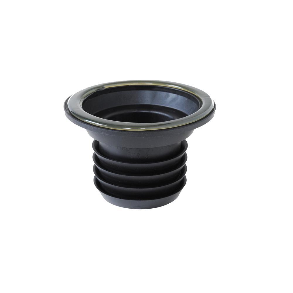 3 in. PVC Wax Free Toilet Seal