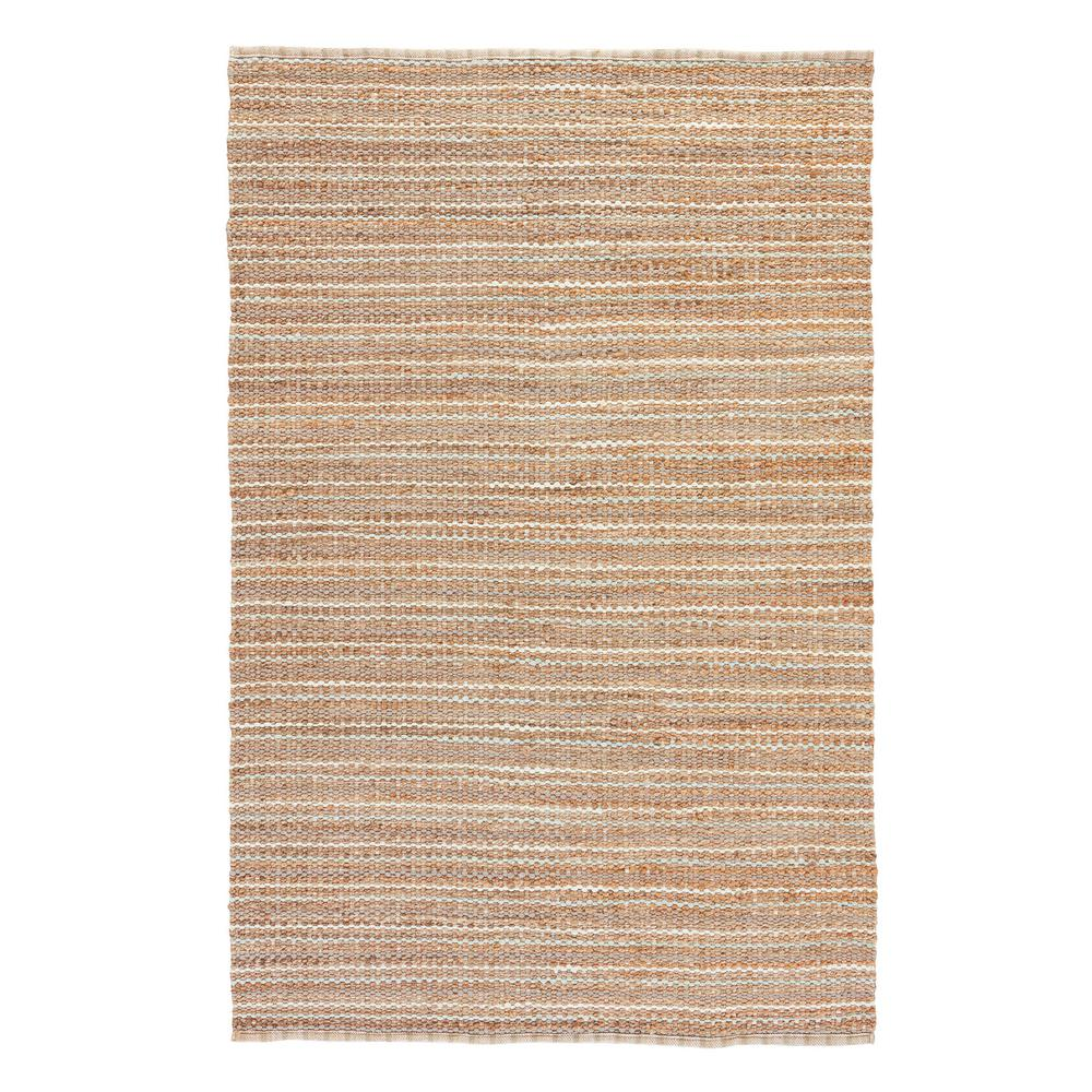 Natural Almond Buff 9 ft. x 12 ft. Stripe Area Rug
