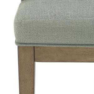 Peachy Dorel Living Brunswick Sage Gray Walnut Rounded Back Accent Pdpeps Interior Chair Design Pdpepsorg